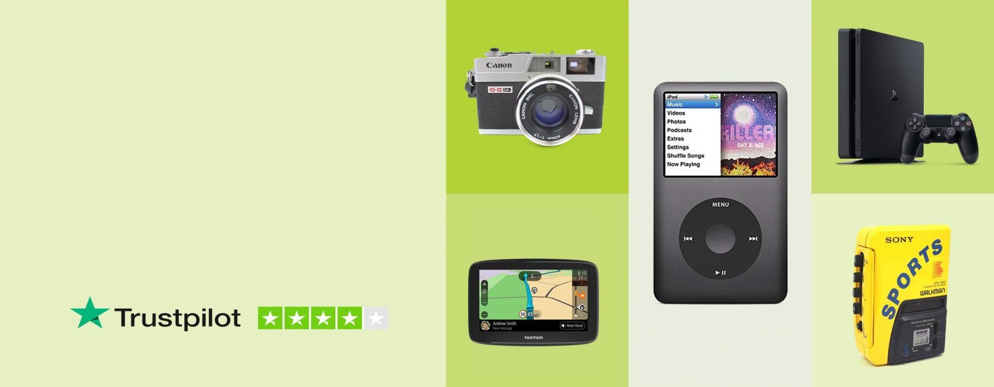 Gadget GoGo Banner Green 4 Trustpilot